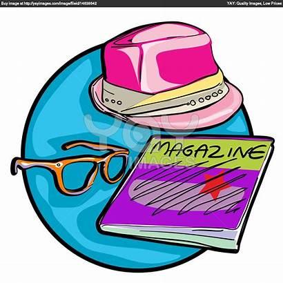 Magazine Clipart Clip Mag Hipster Glasses Clipartpanda