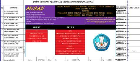 download aplikasi kwitansi beserta sppd spj bos terbaru