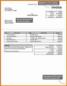 gst invoice format pdf hardhostinfo With invoice format pdf