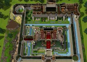 mansion floorplan mod the sims castle inspired by ocarina of time