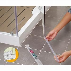 joint tubulaire bas pour porte de douche longueur 1 m With joint porte douche duscholux