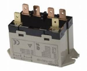 Coil Relay Dpst 25 Amp No 120  240v 6 Terminal
