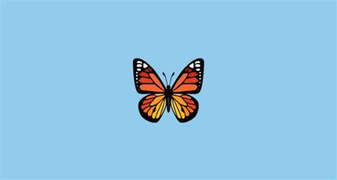butterfly emoji  facebook