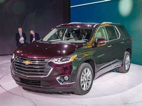 chevy vehicles 2018 2018 chevy traverse redesign auto car update