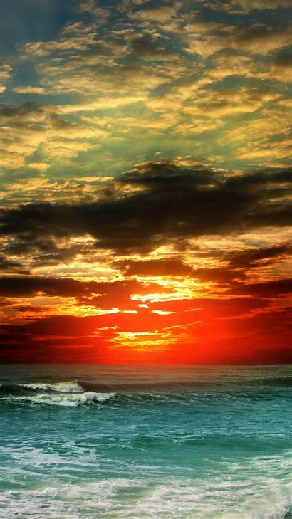 Smartphone Sunset Wallpapers Nature Transparent Yopriceville Clip