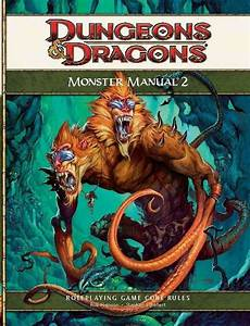 Monster Manual 2  4e