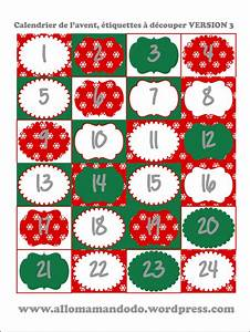 Calendrier De L Avent à Remplir Soi Meme : 3 id es de calendriers de l avent imprimer et faire soi ~ Melissatoandfro.com Idées de Décoration