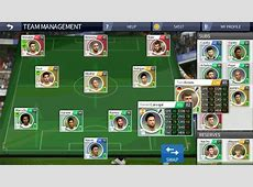 My real Madrid squad dream league soccer 16 YouTube