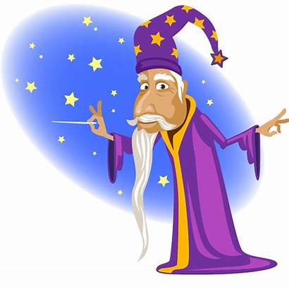 Clipart Magic Magical Wizard Phase February Word
