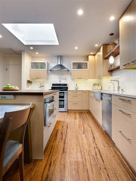 contemporary kitchen flooring photos hgtv