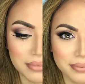 Maquillage Mariage Yeux Vert : echelonnement maquillage mariage yeux vert tuto maquillage ~ Nature-et-papiers.com Idées de Décoration