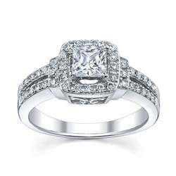 engagement rings at jewelers 6 princess cut engagement rings she 39 ll robbins brothers