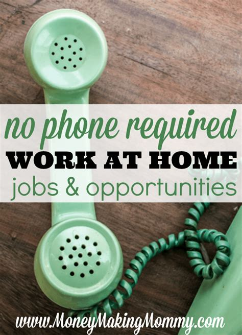 non phone work from home