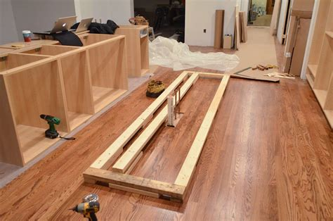 diy install kitchen cabinets faith 39 s kitchen renovation how we assembled installed