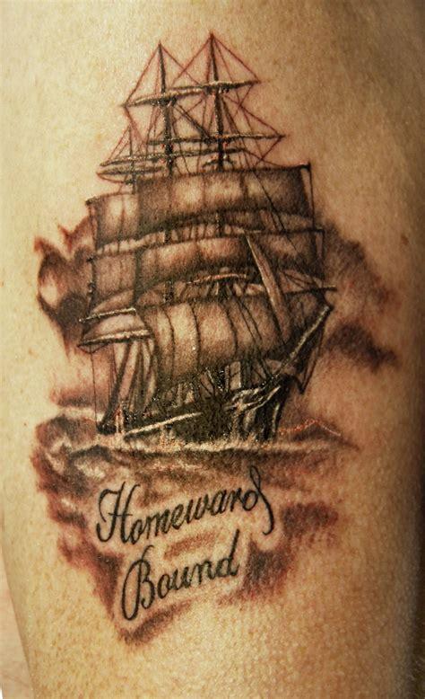 tall ship tattoo jamie murphy  armoured scorpion