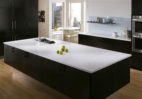 comptoir de cuisine quartz blanc comptoir de cuisine granite au sommet