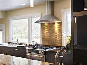 Kitchen Stove Backsplash Ideas: Pictures & Tips From HGTV