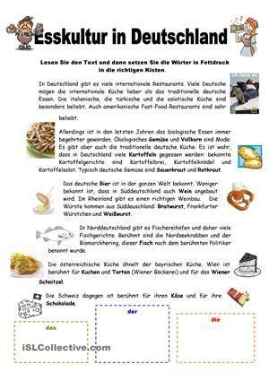 esskultur  deutschland lieschen learn deutsch