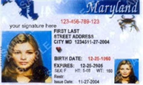 A maryland identification card can be obtained from the maryland department of transportation. maryland identification card