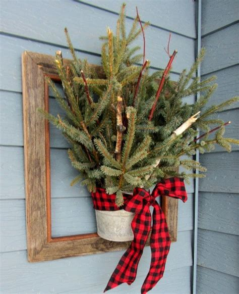 christmas yard decorations ideas 40 comfy rustic outdoor christmas d 233 cor ideas digsdigs