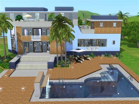 Modernes Haus Let S Build by Sims 3 Haus Bauen Let S Build Mit Meerblick Avec 4