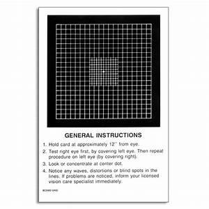 Macular Degeneration Test Armd Pad