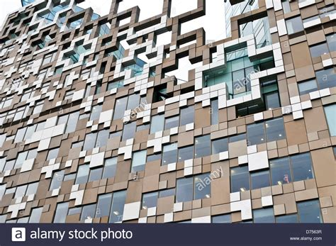 The Cube Building, Designed By Ken Shuttleworth Of Make Architects Stock Photo, Royalty Free