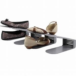 Range Chaussures De Porte : range chaussures en plastique lot de 4 ~ Melissatoandfro.com Idées de Décoration