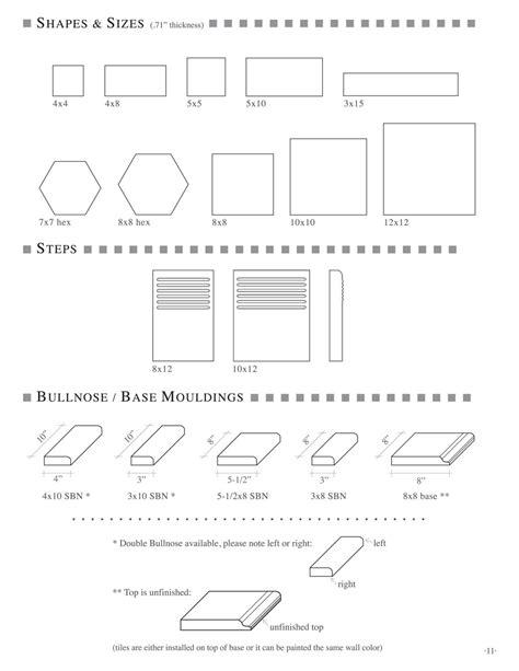 Cement Tile Shapes Cement Tile Sizes Hexagon Cement Tile