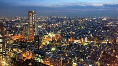 Tokyo Japan Places Skyline Visit Desktop Buildings
