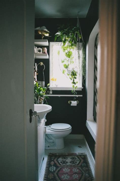small dark bathroom ideas  pinterest small