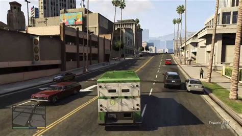 Grand Theft Auto 5 Armored Truck Driving Gameplay Hd