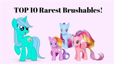 pony rarest brushables
