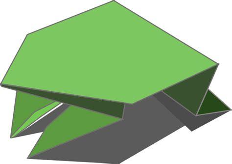 Origami Jumping Frog Clip Art At Clker.com