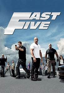 Movie poster for Fast & Furious 5 - Flicks.co.nz
