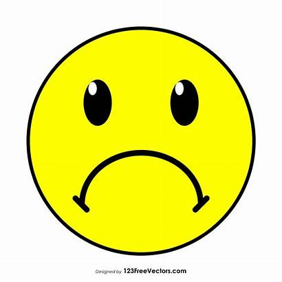Emoji Face Clipart Sad Frowning Frowny Smiley