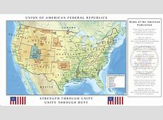 Union of American Federal Republics by RvBOMally on DeviantArt