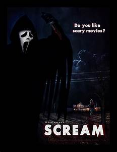Scream poster by smalltownhero on DeviantArt