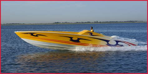 Fishing Boat Paint Designs by Custom Boat Paint Designs