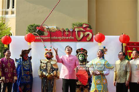 นายกฯ สวมบทเทพเจ้านาจา โยนทวนขึ้นแล้วรับ ตรุษจีน 2562 ...