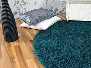 Langflor Teppich Saugen : hochflor langflor teppich shaggy nova petrol rund ebay ~ Markanthonyermac.com Haus und Dekorationen