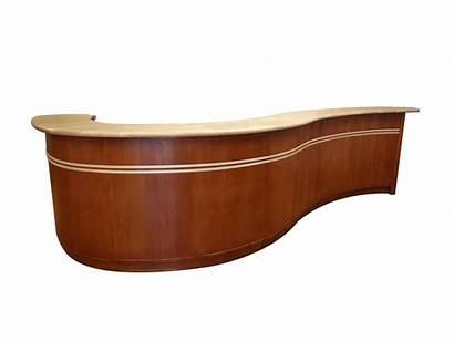 Desk Reception Wood Custom Heirloom