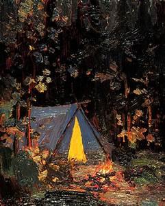 Campfire by Tom Thomson - ArtinthePicture.com