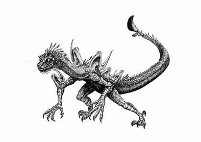 Dragon Dragons Clipart Drawings Cliparts Cleret Indonesian