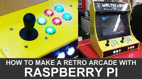 arcade cabinet plans - Bar Top Arcade Plans Arcade Pi - DKRS