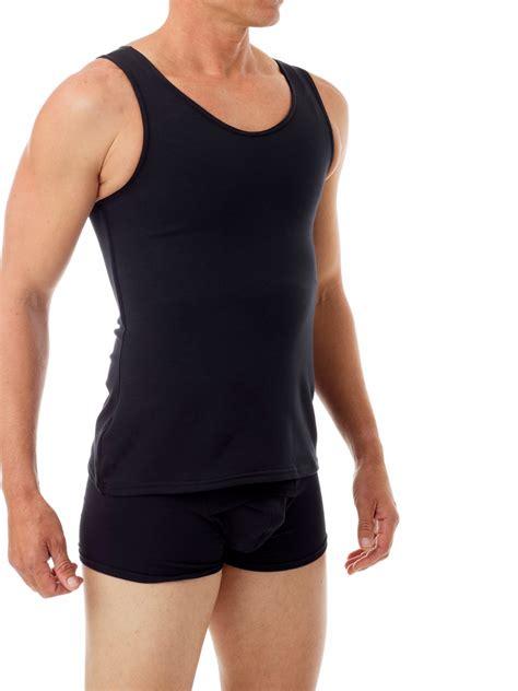 cotton concealer chest binder men compression garments underworks