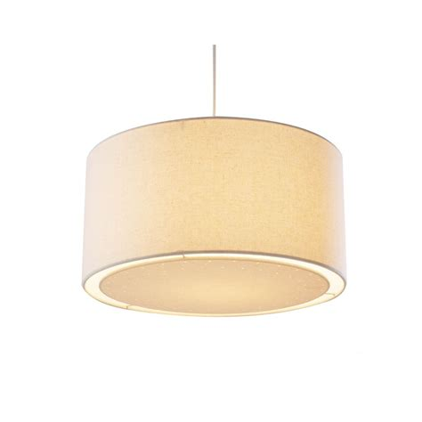 edward easy fit ceiling light shade