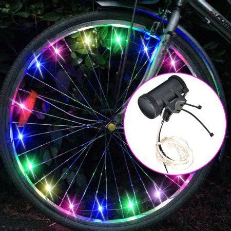 bike wheel lights walmart image bike spoke wheel lights bicycle led tire safety