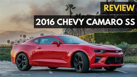Chevy Camaro Ss V8 455hp ,500 Review (2016)