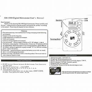 Free Wiring Diagram  Cct Diagrams Of High Quality Metronomes